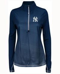 Majestic Women's New York Yankees Believe And Succeed Pullover Navy
