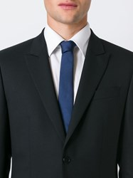 Givenchy Woven Tie Blue