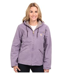 Carhartt Sandstone Sierra Jacket Purple Sage Women's Jacket
