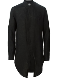 Lost And Found Long Asymmetric Shirt