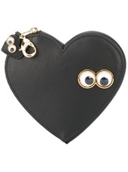 Sophie Hulme 'Stanley And Flo' Coin Pouch Black