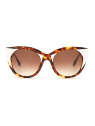 Thierry Lasry Aristocracy Cat Eye Frame Sunglasses