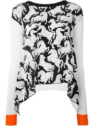 Stella Mccartney Horse Print Sweater