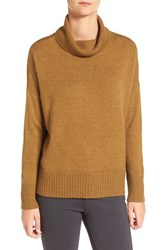 Eileen Fisher Women's Wool Blend Jersey Turtleneck Sweater