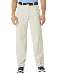 Callaway Chevron Pleated Pants Silver Linings