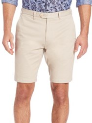 Saks Fifth Avenue Pima Cotton Shorts Beige