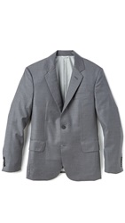 Brooklyn Tailors Super 120 Jacket Mid Grey