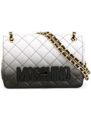 Moschino Quilted Crossbody Bag Black
