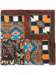 Etro Printed Scarf Brown