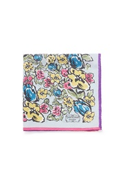 Penrose London 'Aintree A' Floral Print Handkerchief Multi Colour