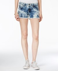Miss Me Acid Wash Cutoff Denim Shorts Vintage Blue