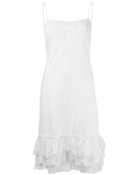 Dosa Slip Dress White