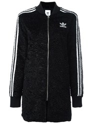 Adidas Originals Striped Arms Long Bomber Black