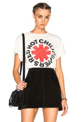 Madeworn Red Hot Chili Peppers Tee In White
