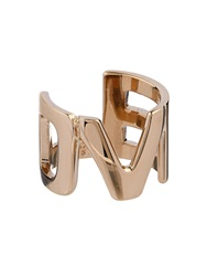 Givenchy Love Yellow Gold Tone Brass Ring