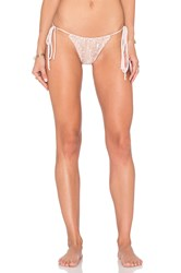For Love And Lemons Sangria Bikini Bottom Blush