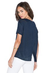Feel The Piece Raeburn Top Navy