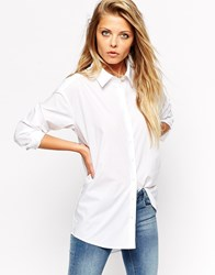 Asos Smart Boyfriend White Shirt White