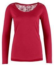 Naf Naf Poalondon Long Sleeved Top Bourgogne Bordeaux