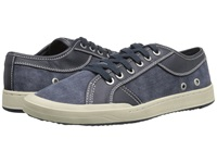 Bass Holton Navy Canvas Semi Tumble Men's Lace Up Casual Shoes
