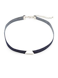 Cara Denim Choker