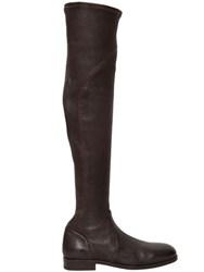Alberto Fasciani 20Mm Stretch Leather Boots