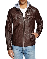 Levi's Faux Leather Trucker Jacket Compare At 180 Brown