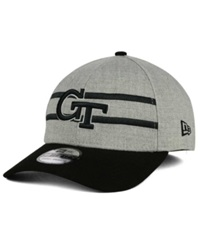 New Era Georgia Tech Yellow Jackets Gridiron 39Thirty Cap Gray Black