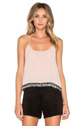 T Bags Losangeles Scoop Neck Tank Rose