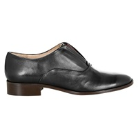 Hobbs Riley Leather Derby Shoes Black