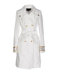 Class Roberto Cavalli Coats And Jackets Full Length Jackets Women White