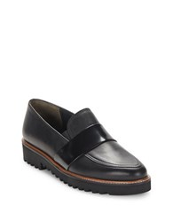 Paul Green Chelsea Leather Loafers Black