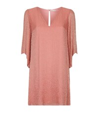 Alice Olivia Tammin Beaded Kaftan Dress Female Pink