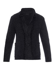 Alexander Mcqueen Raw Edges Knitted Cardigan