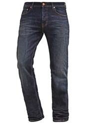 Ltb Paul Straight Leg Jeans Deandre Wash Dark Blue Denim