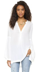 Free People Easy Girl Top Ivory
