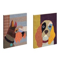 Magpie Poochies Notebooks Scottie And Spaniel Set Of 2