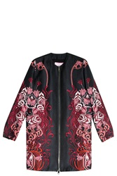 Giamba Embroidered Coat Black