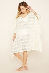 Forever 21 Z And L Europe Crochet Tunic