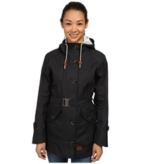 Jack Wolfskin Tabora Texapore Coat Black Women's Coat