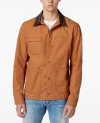 American Rag Men's Workwear Jacket Only At Macy's Caramel Kiss