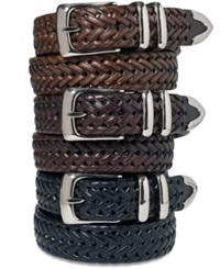Perry Ellis Braided Belt Black