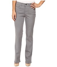 Nydj Petite Marilyn Straight Jeans In Luxury Touch Denim In Mercury Mercury Women's Jeans Blue