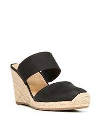 Franco Sarto Mint Espadrille Wedges Black
