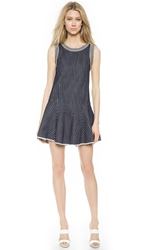 O'2nd Disco Dress Navy