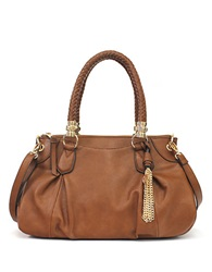 Jessica Simpson Valentina Faux Leather Satchel Bag Luggage
