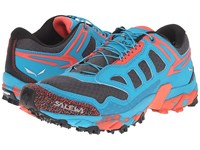 Salewa Ultra Train Magnet Hot Coral Women's Shoes Gray