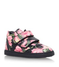 Dolce And Gabbana Tulip Print Sneakers Unisex
