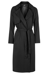 Belted Trench Coat By Goldie Black