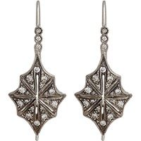 Cathy Waterman Women's Star Drop Earrings No Color